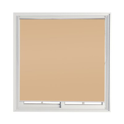 Semi-Sheer Indoor/Outdoor Roll-Up Shade Color: Sand