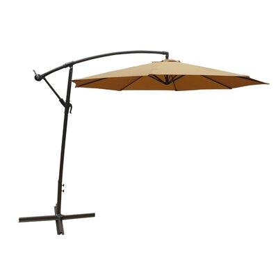 Image of 10' Cantilever Umbrella Color: Tan