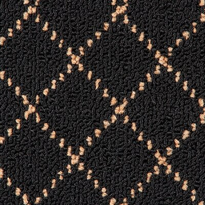 Trellis Black Area Rug