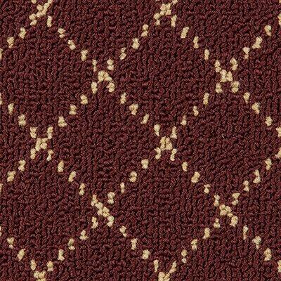 Trellis Burgundy Area Rug