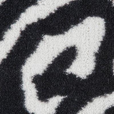 Safari Black/White Area Rug