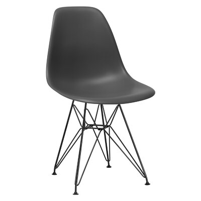 Rafael Side Chair Upholstery: Grey