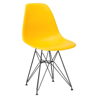 Rafael Side Chair Upholstery: Yellow