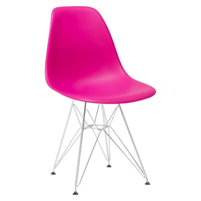 Padget Side Chair Upholstery: Fuchsia