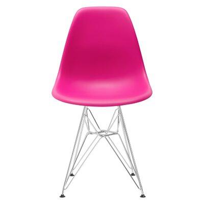 Rafael Dining Chair Color: Fuchsia
