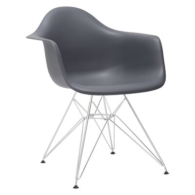 Rafael Arm Chair Color: Gray