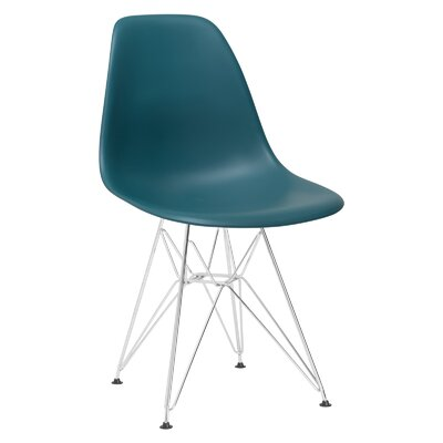 Padget Side Chair Upholstery: Teal