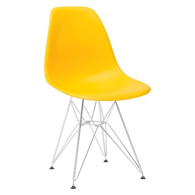 Padget Side Chair Upholstery: Yellow