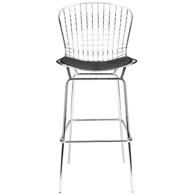 Morph 29 Bar Stool Color: Black