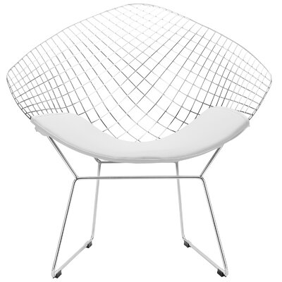 Morph Papasan Chair Color: White