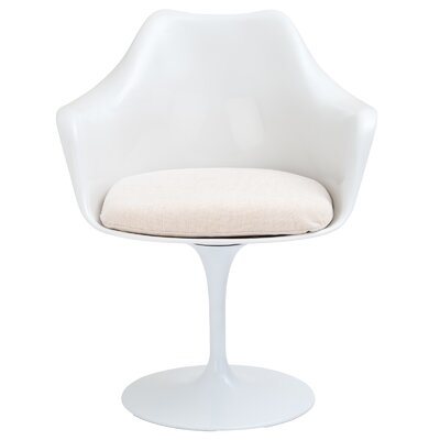Croker Lounge Chair Upholstery: White