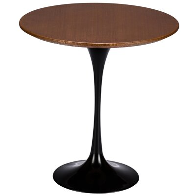 Croker End Table Color: Black / Walnut