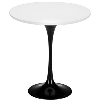 Croker End Table Color: Black / White