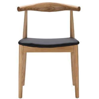 Keren Solid Wood Dining Chair Frame Color: Natural