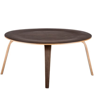 Isabella Coffee Table Color: Walnut