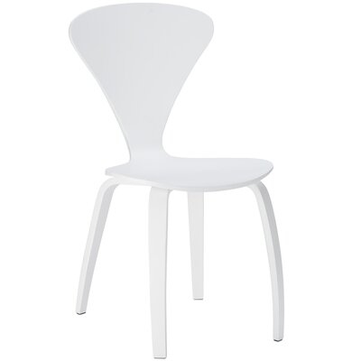 Sofia Solid Wood Dining Chair Finish: White