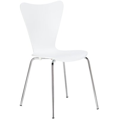 Elgin Dining Chair Finish: White
