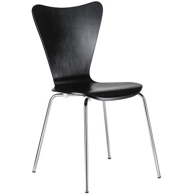 Elgin Side Chair Finish: Black