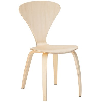 Sofia Side Chair Finish: Natural
