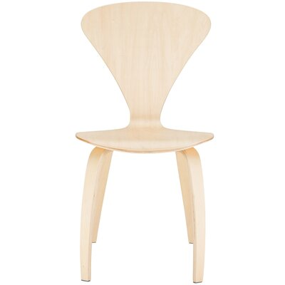 Sofia Solid Wood Dining Chair Finish: Natural