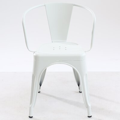 Trattoria Arm Chair Finish: White