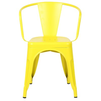 Trattoria Arm Chair Finish: Yellow
