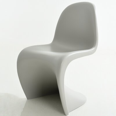 S Side Chair Finish: Light Grey