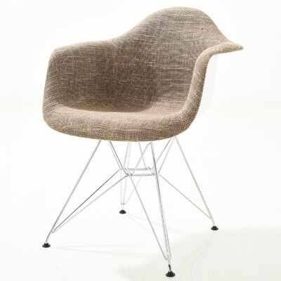 Rafael Arm Chair Finish: Taupe