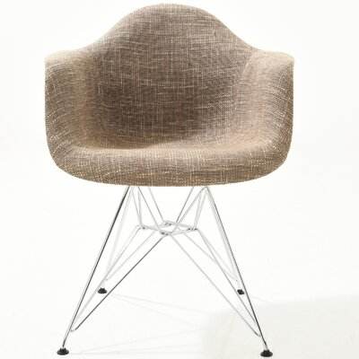 Padget Arm Chair Finish: Taupe