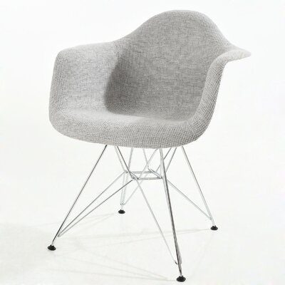 Rafael Arm Chair Finish: Light Gray