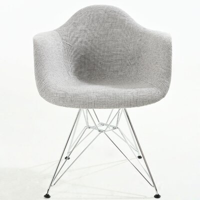 Padget Arm Chair Finish: Light Gray