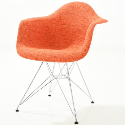 Rafael Arm Chair Finish: Orange