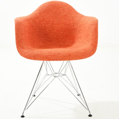 Padget Arm Chair Finish: Orange