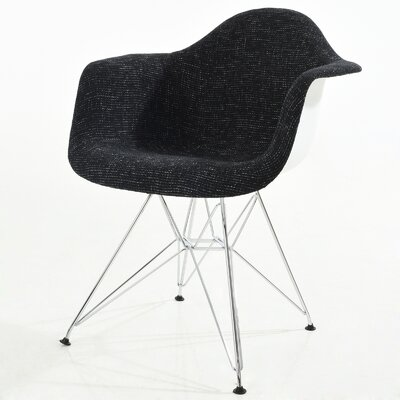 Padget Arm Chair Finish: Black