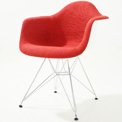 Rafael Arm Chair Finish: Red
