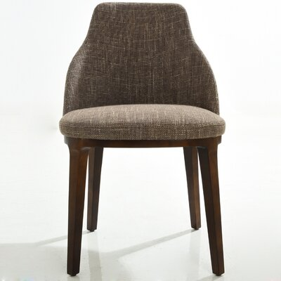 Side Chair Finish: Taupe