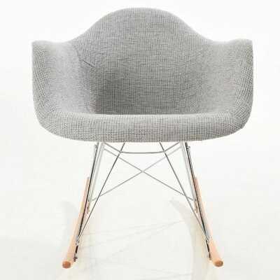 Arm Chair Finish: Light Gray