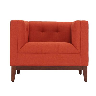 Huntington Armchair Color: Burnt Orange