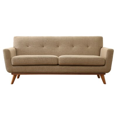 Mari Sofa Finish: Taupe