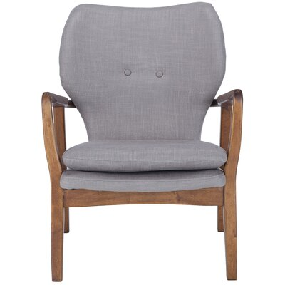 Alson Lounge Chair Upholstery: Gray