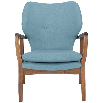 Alson Lounge Chair Upholstery: Sea Green