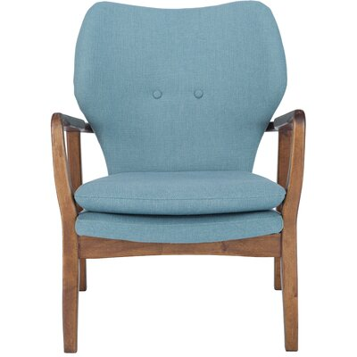 Alson Armchair Upholstery: Sea Green
