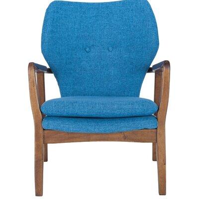 Alson Armchair Upholstery: Blue