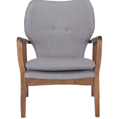Alson Armchair Upholstery: Gray