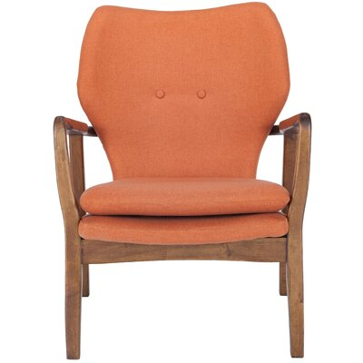Alson Armchair Upholstery: Orange