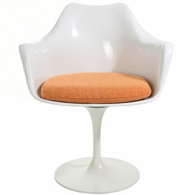 Croker Lounge Chair Upholstery: Orange