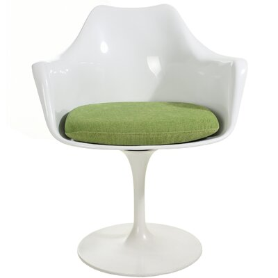 Croker Lounge Chair Upholstery: Green
