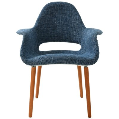 Kansas City Solid Back Upholstered Dining Chair