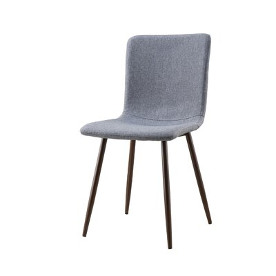 Amir Upholstered Dining Chair Leg Color: Walnut