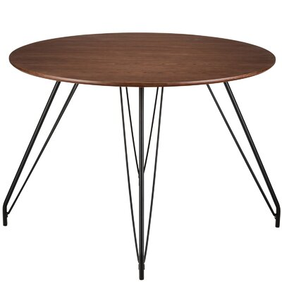 Baize Hairpin Dining Table
